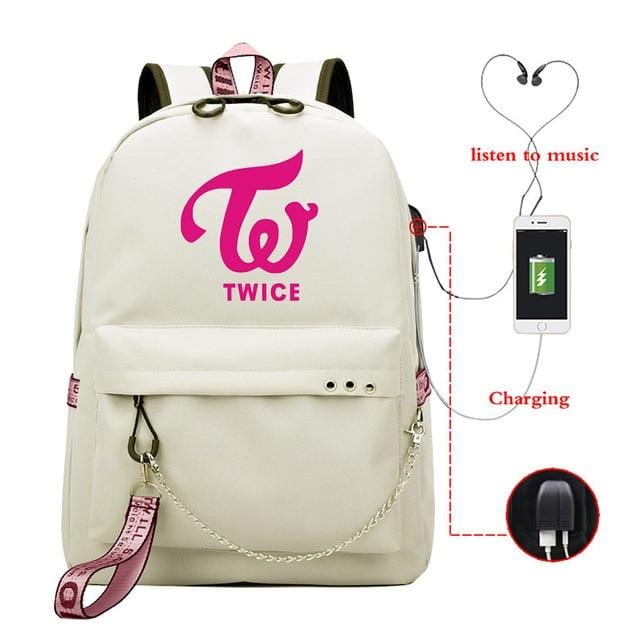TWICE What Is Love USB Backpack