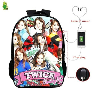 TWICE Fancy You USB Backpack