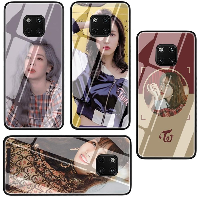 TWICE Tempered Glass Phone Case for Huawei