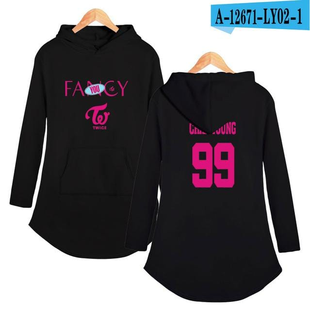 TWICE Fancy You Hoodie Dress