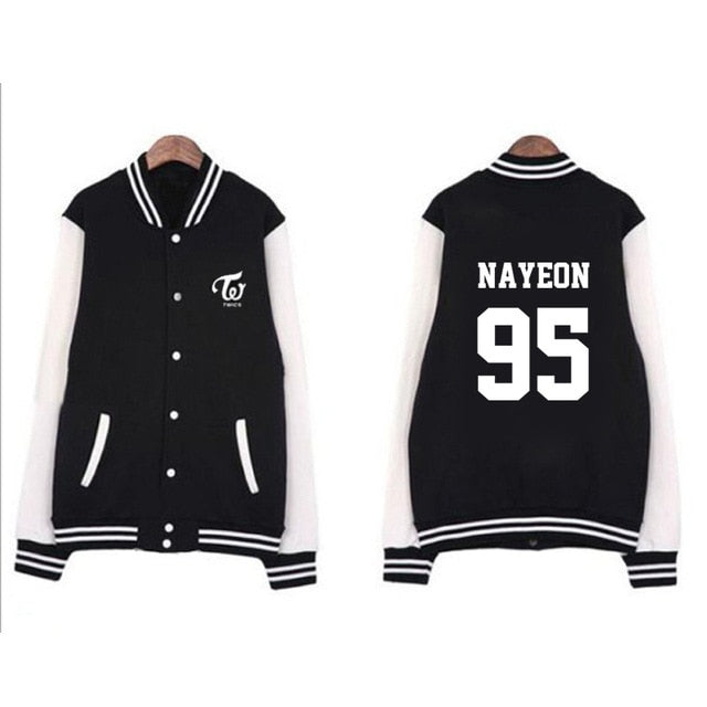 TWICE Member Name Jacket