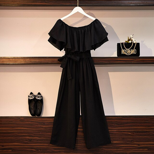 Nova Off Shoulder Jumpsuit