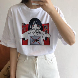 Anime Printed Top