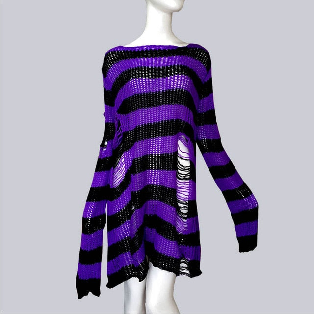 Plus Size Gothic Sweater Dress