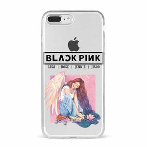 Blackpink Transparent Silicone Printed Phone Case