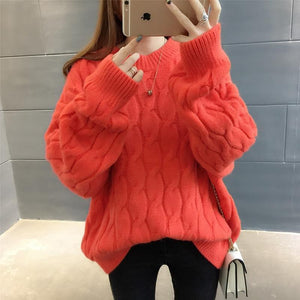 Winter Casual Knitted Pullover