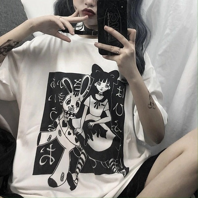New Summer Kawaii Tshirt