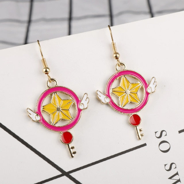 Anime Drop Earrings