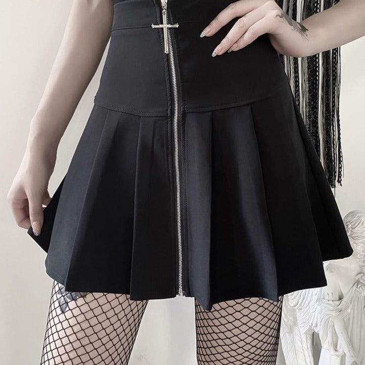 Gothic Bodycon Skirt