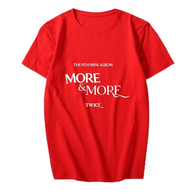 Twice More and More T-shirt
