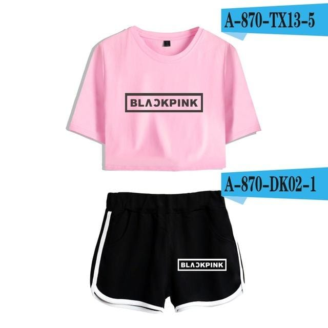 BLACKPINK Two Piece Summer Set