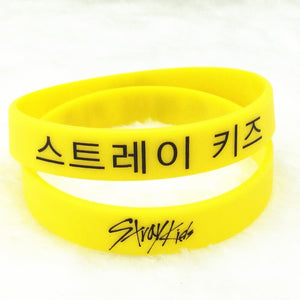 Free Stray Kids Silicon Bracelet