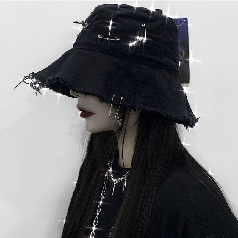 Gothic Girl Bucket Hat