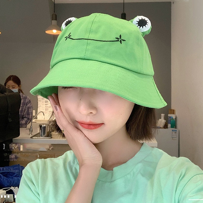 Frog Korean Bucket Hat
