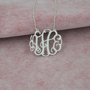 Personalized Boho Monogram Necklace