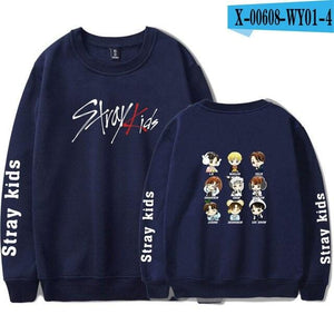 Stray Kids Sweatshirt Pullovers