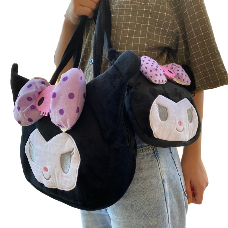 Kuromi Plush Bag