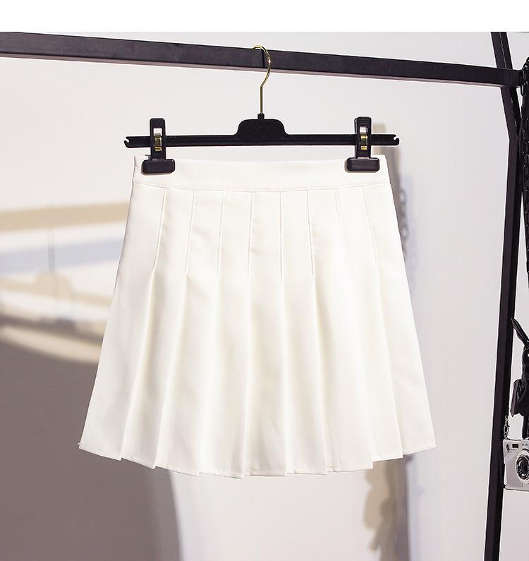 Celeste Pleated Mini Skirt Cute Set