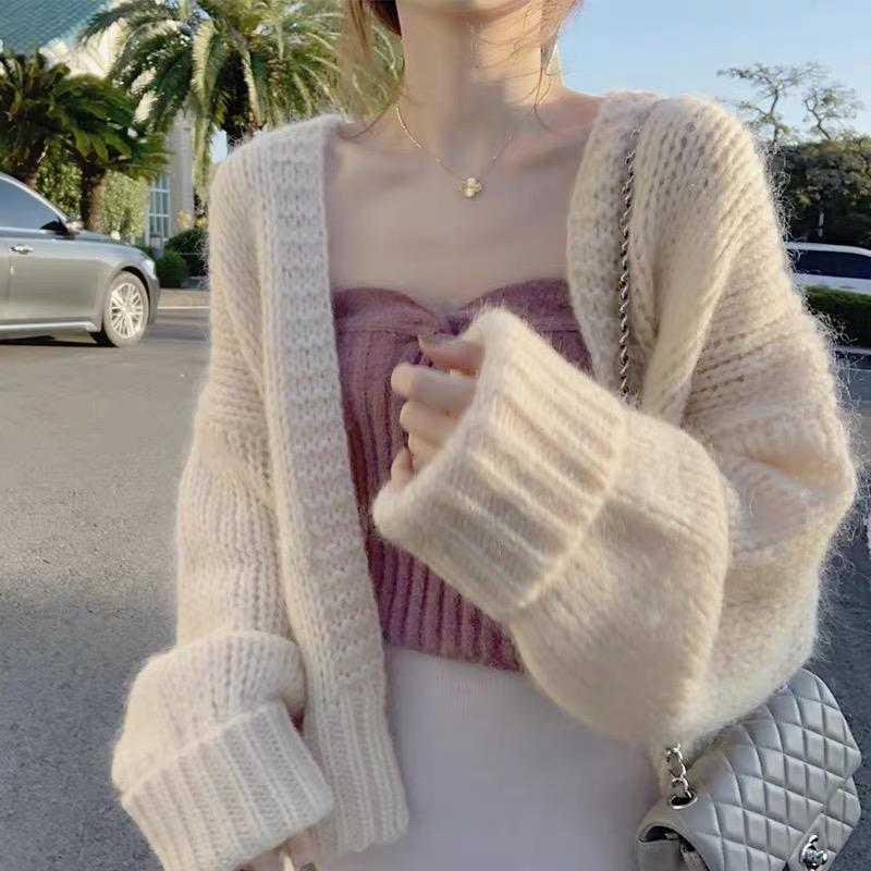 Knitted Solid Sweater