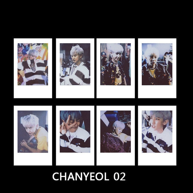 EXO Polaroid Photocards