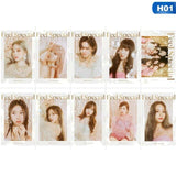 "TWICE Mini Album ""Feel Special"" Crystal Sticker Photocards"