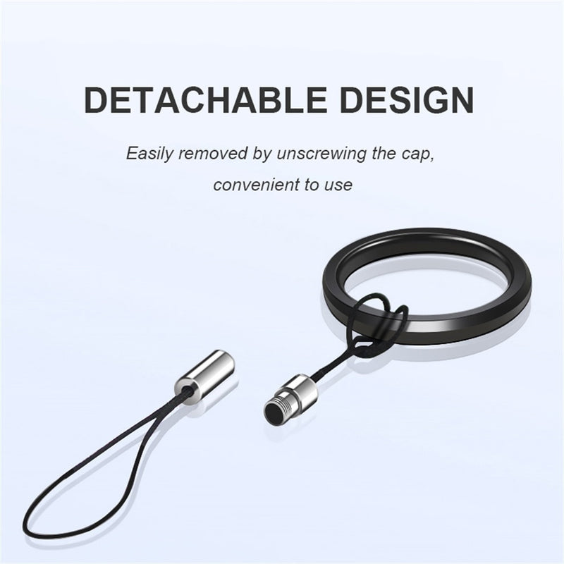 Aluminum Alloy Ring Phone Strap