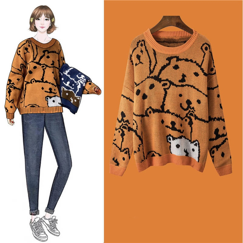 Wild Loose Long Sleeve Sweater
