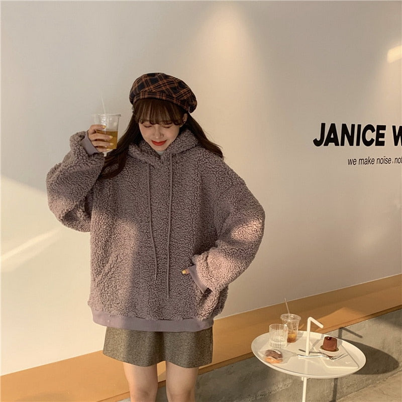 Korean Style Winter Sweatshirt
