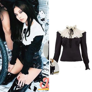 Blackpink Jennie Lace Top