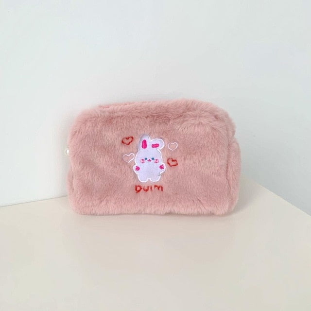 Bear Dog Cosmetic Bag