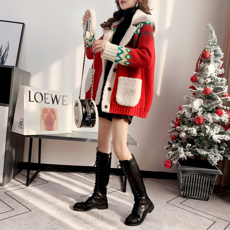 Korean Style Knitted Winter Long Sleeve