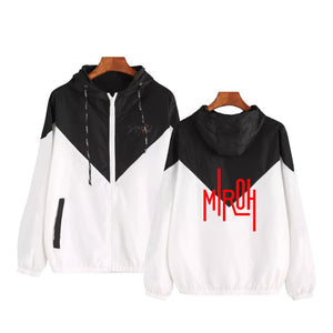 Stray Kids Miroh Zipper Hooded Jacket