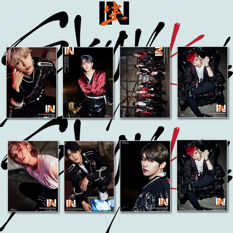 Stray Kids Poster Stickers 2pcs/set