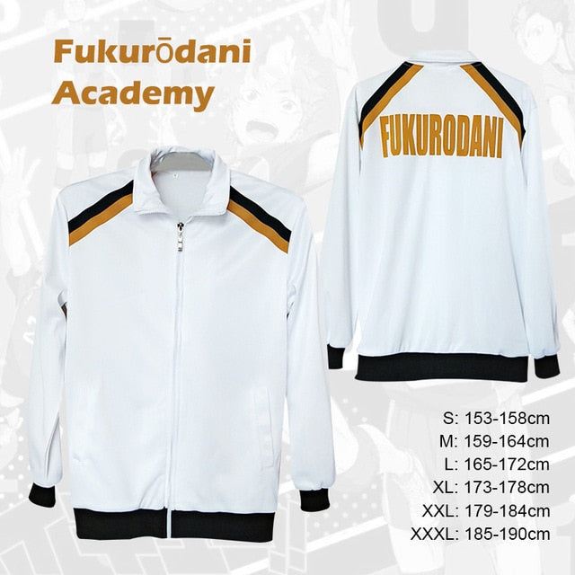 Haikyu Karasuno High School Jacket