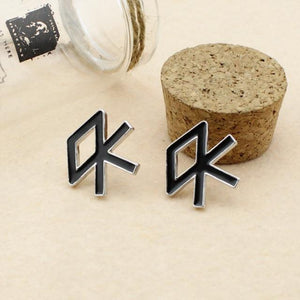 EXO Logo Stud Earrings