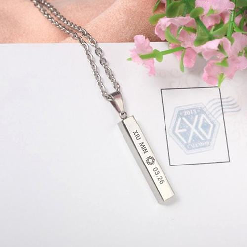 FREE EXO EX'ACT Monster Lucky One Chain Pendant Necklace
