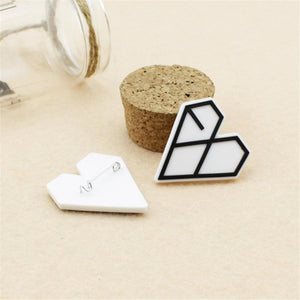 EXO EXO-K Team Logo Plastic Badge - 2Pcs