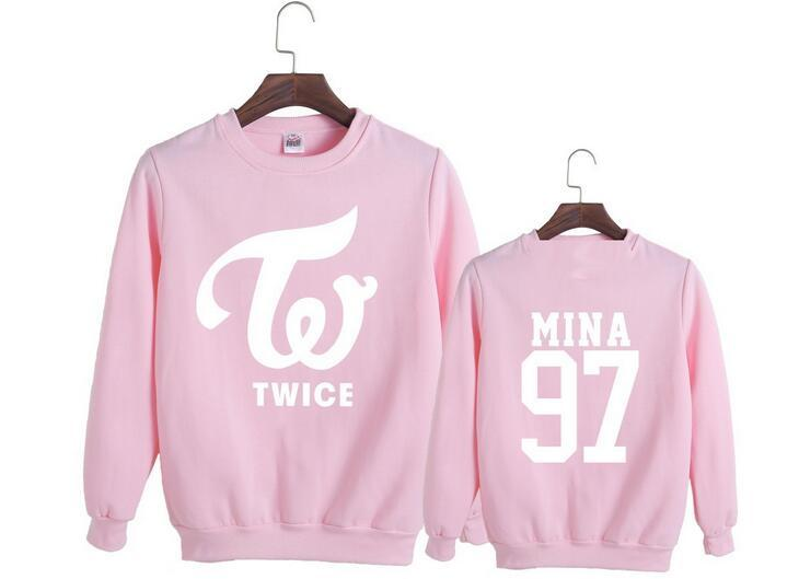 TWICE Member Name Printed Sweatshirt