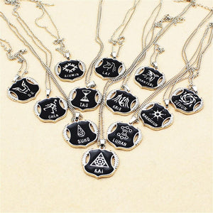 Exo XOXO Members Logo Necklace