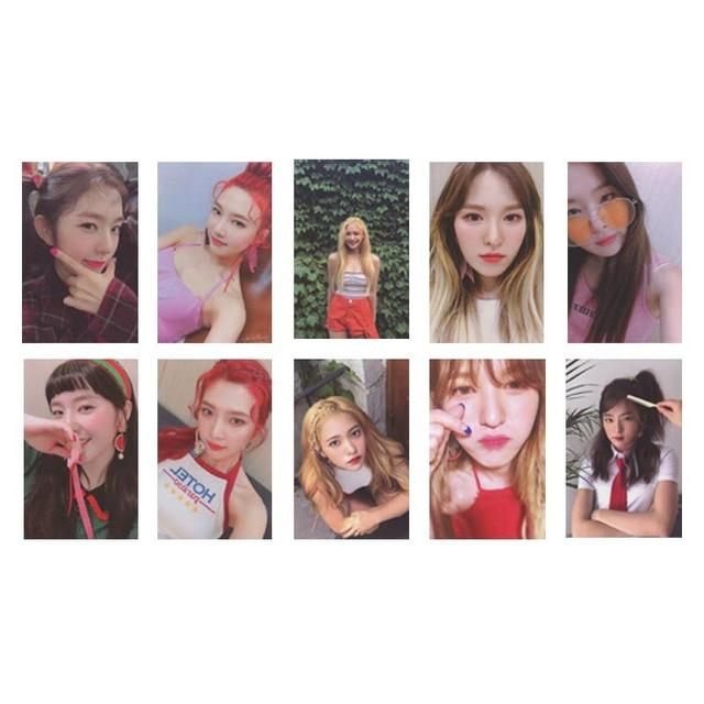 Red Velvet The Red Summer Album Photocards - 10Pc Set