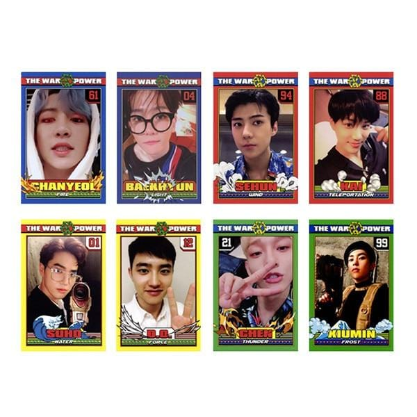 FREE EXO Photo Lomo Card Set