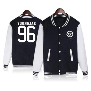 GOT7  Baseball Uniform Jacket