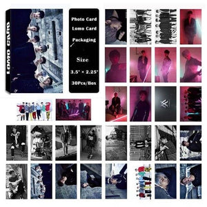 Monsta X Album Lomo Cards - 30Pc Set