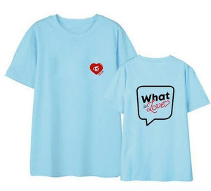 Twice What is Love Heart T-shirt