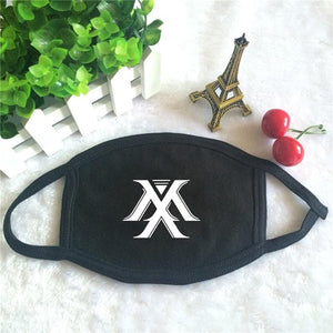 MONSTA X Logo Face Mask