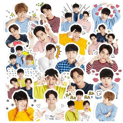 FREE EXO Scrapbooking Decorative Stickers
