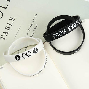 Free From EXO Planet Silicone Wristband Bracelet