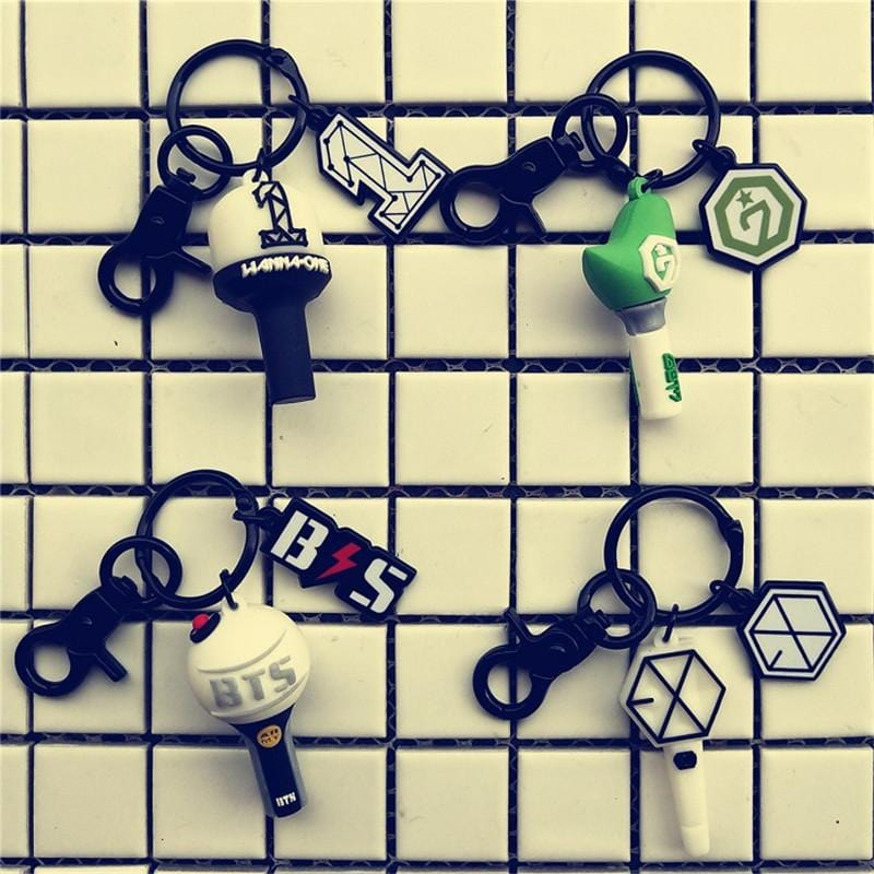 EXO Light Stick Keychain