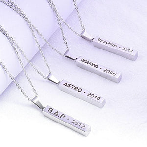 Stray Kids Pendant Necklace