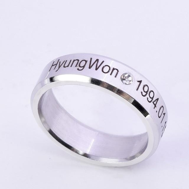 MONSTA X Finger Rings
